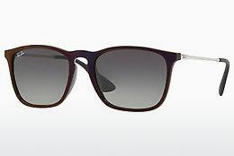Solbriller Ray-Ban CHRIS (RB4187 631611) - Sort, Rød