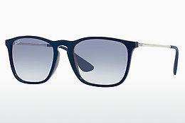Solbriller Ray-Ban CHRIS (RB4187 631719) - Blå