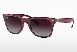 Solbriller Ray-Ban WAYFARER LITEFORCE (RB4195 60874Q) - Grå, Purpur