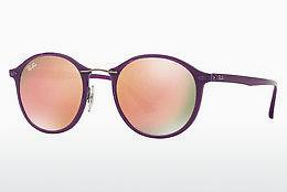 Solbriller Ray-Ban Round Ii Light Ray (RB4242 60342Y) - Purpur