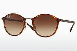 Solbriller Ray-Ban Round Ii Light Ray (RB4242 620113) - Brun, Havanna
