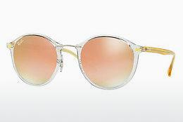 Solbriller Ray-Ban Round Ii Light Ray (RB4242 6288B9) - Gennemsigtig