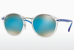 Solbriller Ray-Ban Round Ii Light Ray (RB4242 6289B7) - Gennemsigtig