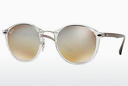 Solbriller Ray-Ban Round Ii Light Ray (RB4242 6290B8) - Gennemsigtig