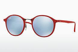 Solbriller Ray-Ban Round Ii Light Ray (RB4242 764/30) - Rød