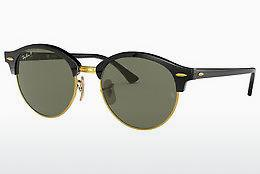 Solbriller Ray-Ban CLUBROUND (RB4246 901/58) - Sort