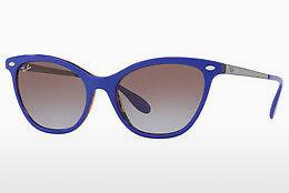 Solbriller Ray-Ban RB4360 123668 - Purpur, Orange, Brun, Havanna