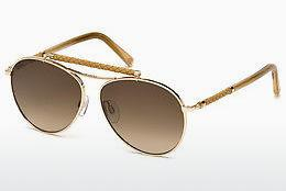 Solbriller Tod's TO0203 28F - Guld