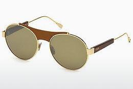 Solbriller Tod's TO0216 33Q - Guld