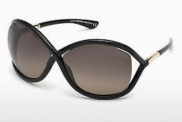 Solbriller Tom Ford Whitney (FT0009 01D) - Sort, Shiny