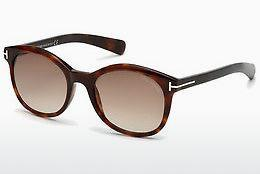 Solbriller Tom Ford Riley (FT0298 52F) - Brun, Dark, Havana
