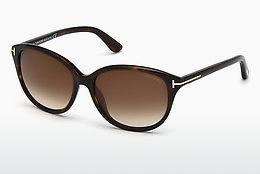Solbriller Tom Ford Karmen (FT0329 52F) - Brun, Dark, Havana