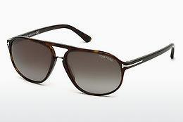 Solbriller Tom Ford Jacob (FT0447 52B) - Brun, Dark, Havana