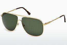 Solbriller Tom Ford Dominic (FT0451 28N) - Guld