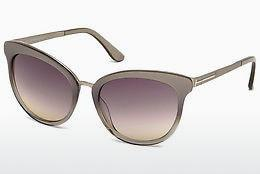 Solbriller Tom Ford Emma (FT0461 59B) - Horn, Beige, Brown