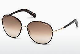 Solbriller Tom Ford Georgia (FT0498 52F) - Brun, Dark, Havana