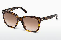 Solbriller Tom Ford Amarra (FT0502 52F) - Brun, Dark, Havana