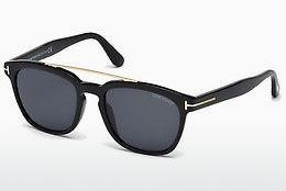 Solbriller Tom Ford Holt (FT0516 01A) - Sort