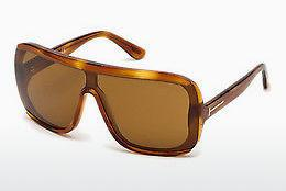 Solbriller Tom Ford FT0559 53E - Havanna, Yellow, Blond, Brown
