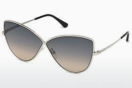 Solbriller Tom Ford FT0569 16B - Sølv, Shiny, Grey