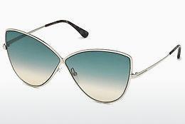 Solbriller Tom Ford FT0569 16W - Sølv, Shiny, Grey