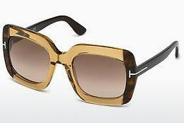 Solbriller Tom Ford FT0580 47F - Brun, Bright