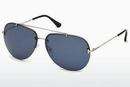 Solbriller Tom Ford FT0584 16V - Sølv, Shiny, Grey