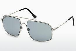 Solbriller Tom Ford FT0585 16A - Sølv, Shiny, Grey