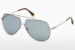 Solbriller Tom Ford FT0586 16A - Sølv, Shiny, Grey