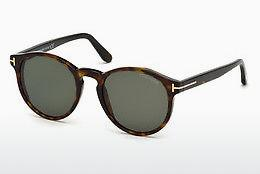 Solbriller Tom Ford FT0591 52N - Brun, Dark, Havana