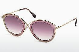 Solbriller Tom Ford FT0604 77T - Rosa, Fuchsia