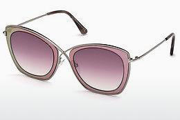 Solbriller Tom Ford FT0605 77T - Rosa, Fuchsia