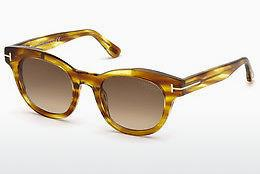Solbriller Tom Ford FT0616 47F - Brun, Bright