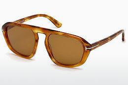 Solbriller Tom Ford FT0634 53E - Havanna, Yellow, Blond, Brown