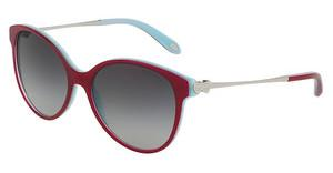 Tiffany TF4127 81673C GREY GRADIENTCHERRY ON SHOT BLUE