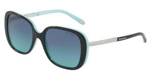 Tiffany TF4137B 80559S AZURE GRADIENT BLUEBLACK/BLUE