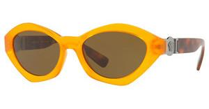 Versace VE4334 525773 BROWNTRANSPARENT ORANGE