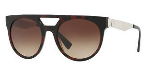 Versace VE4339 525013 BROWN GRADIENTRED HAVANA/BLUE