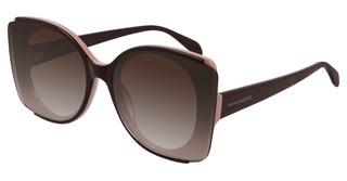 Alexander McQueen AM0250S 005 BROWNBURGUNDY