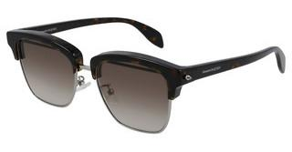 Alexander McQueen AM0297S 003 BROWNRUTHENIUM