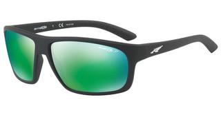 Arnette AN4225 01/1I POLAR DARK GREY MIRROR GREENMATTE BLACK