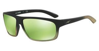Arnette AN4225 24258N LIGHT GREEN MIRROR GREENBLACK GRAD SHOT GREEN