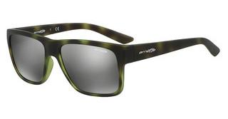 Arnette AN4226 24286G GREY MIRROR SILVERGREEN HAVANA RUBBER