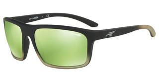 Arnette AN4229 24258N LIGHT GREEN MIRROR GREENBLACK GRAD SHOT GREEN