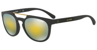 Arnette AN4237 01/8N MIRROR GREEN GOLDMATTE BLACK