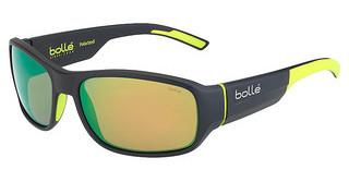 Bolle Heron 12380 Polarized Brown Emerald oleo ARMatt Dark Grey Yellow