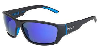 Bolle Ibex 12374 Polarized GB10 Oleo AFMatt Black Blue