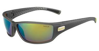 Bolle Python 12124 Polarized Brown Emerald oleo AFMatte Smoke/Green
