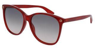 Gucci GG0024S 006 BROWNRED