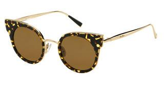 Max Mara MM ILDE I 2PT/W4 BROWNHVNA GOLD